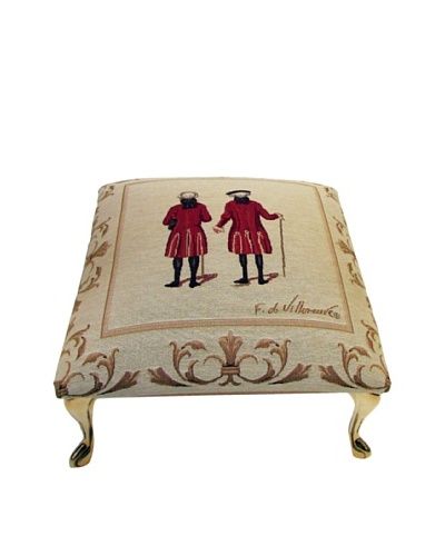 Corona Décor Co. Red Coats II Footstool