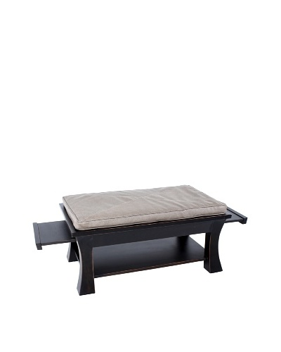 COUEF Jared Coffee Table, Salem/Taupe Stingray