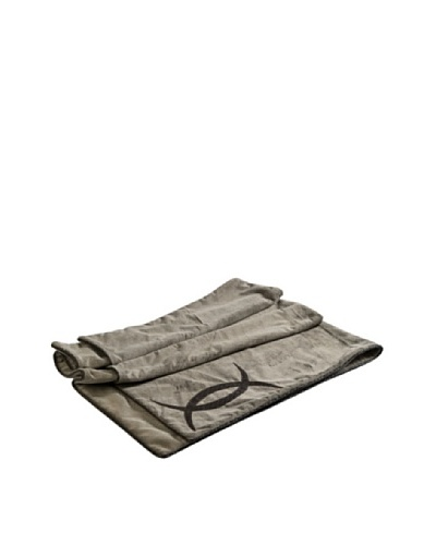 COUEF Clark Throw, Light Brown Faux Fur