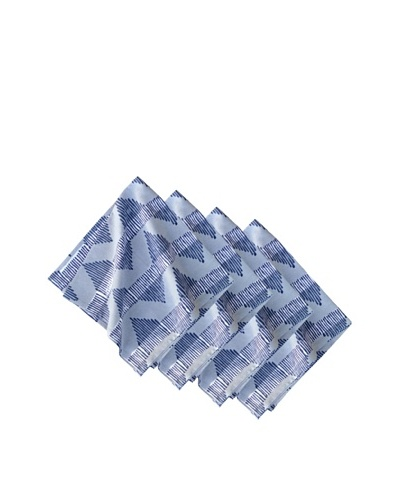 Couleur Nature Set of 4 Aero Napkins, Indigo