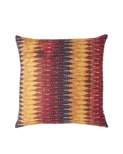 Couleur Nature Ikhat Kantha Pillow, GoldenAs You See