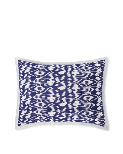 Couleur Nature Ikat Standard Sham, BlueAs You See