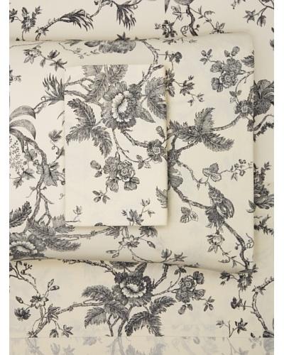 Couleur Nature Annabelle Sheet Set, Black, KingAs You See