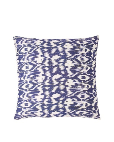 Couleur Nature Ikhat Kantha Pillow, BlueAs You See