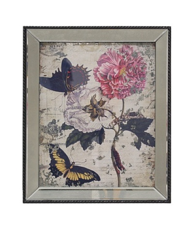 Mirror Floral Wall Art