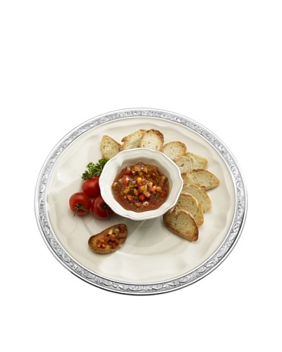 Mikasa Countryside Chip and Dip Set