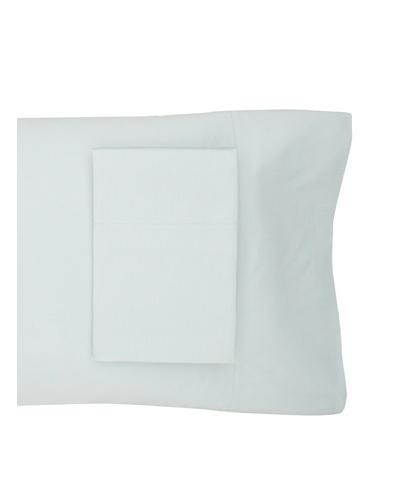 Coyuchi Sateen Pillowcase [Pale Dusty Aqua]