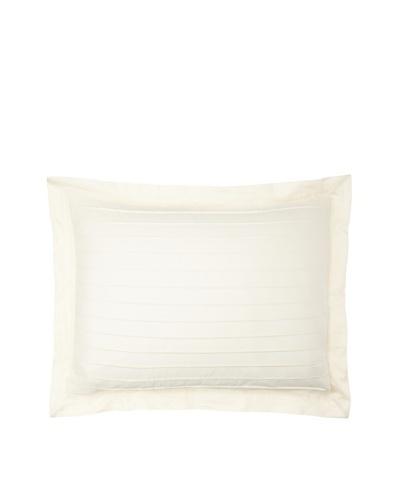 Coyuchi Pleated Sateen Pillow Sham [Ivory]