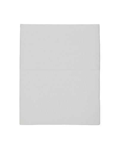 Coyuchi Sateen Flat Sheet [Pale Gray]