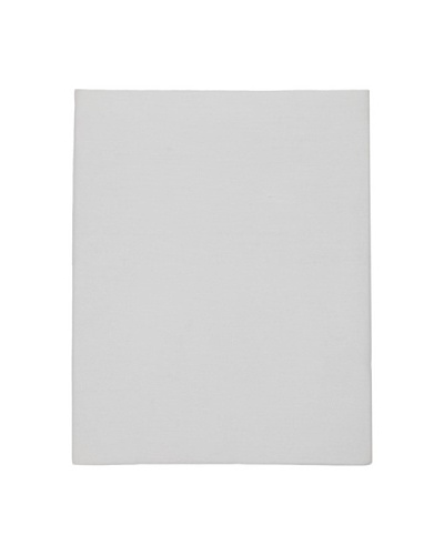 Coyuchi Sateen Fitted Sheet [Pale Gray]