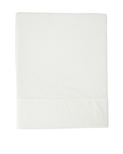 Coyuchi Percale Flat Sheet, White, King