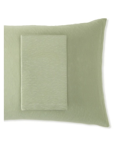 Coyuchi Pair of Slub Jersey Envelope Pillowcases