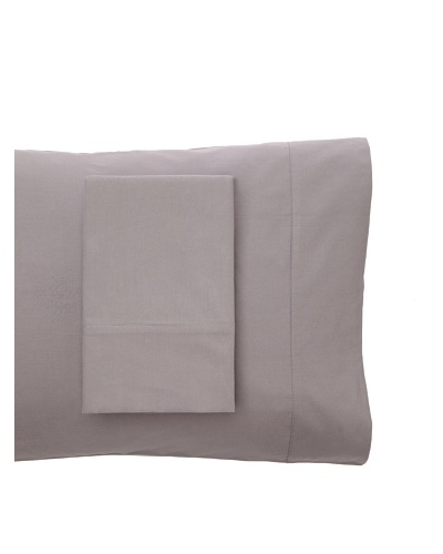 Coyuchi Pair of Washed Percale Pillowcases