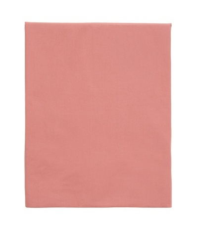 Coyuchi Washed Percale Fitted Sheet [Dusty Rose]