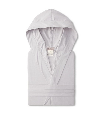 Coyuchi Cloud Brushed Flannel Hooded Robe