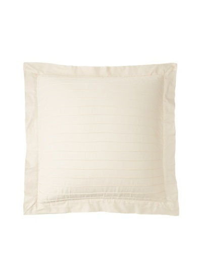 Coyuchi Pleated Sateen Euro Sham