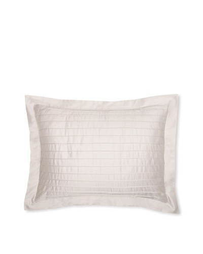 Coyuchi Pleated Sateen Pillow Sham