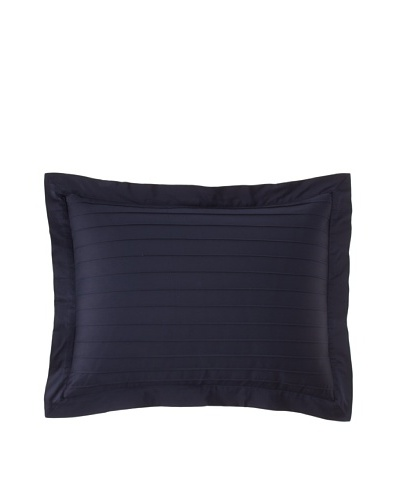Coyuchi Pleated Sateen Sham [Indigo]
