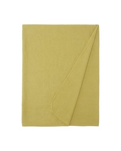Coyuchi Honeycomb Throw [Green Tea]