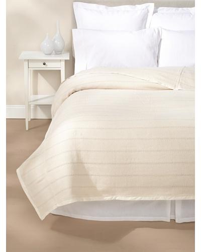 Coyuchi Willow Weave Blanket [Ivory]