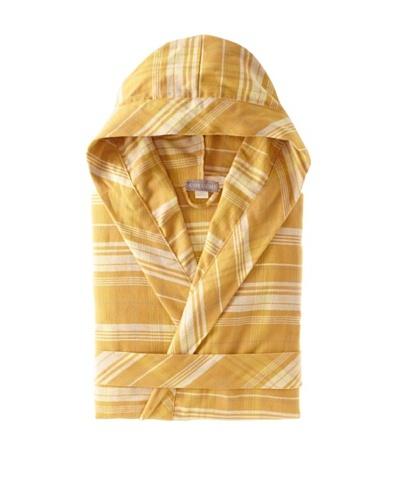 Coyuchi Edinburgh Cloud Brushed Flannel Hooded Robe