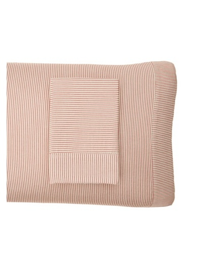 Coyuchi Mini Stripe Cotton/Linen Envelope Pillowcase