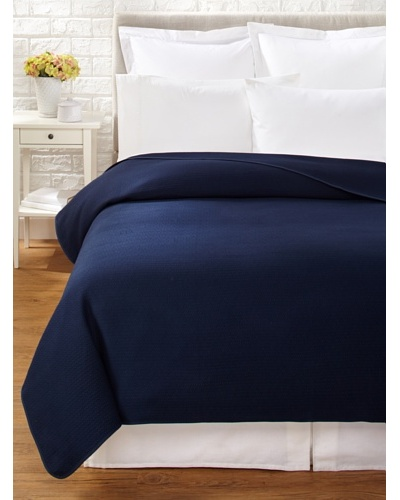 Coyuchi Subtle Diamond Matelassé Coverlet