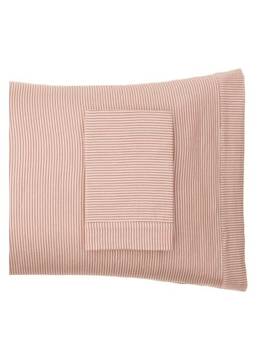 Coyuchi Mini Stripe Cotton/Linen Pillowcase