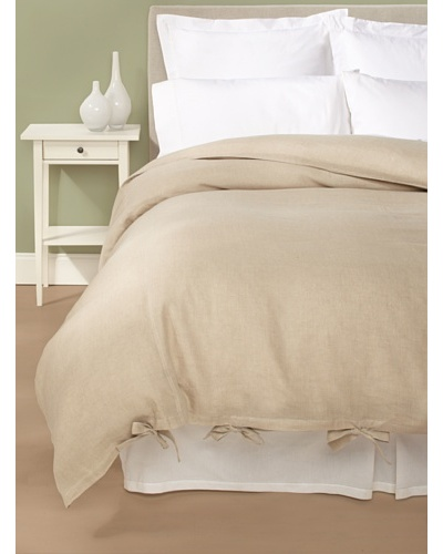 Coyuchi Linen Breeze Duvet Cover