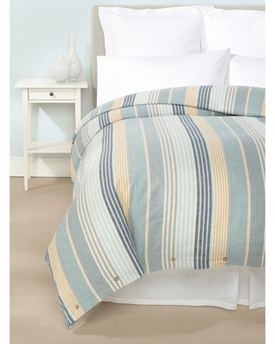 Coyuchi Brushed Flannel Duvet Cover