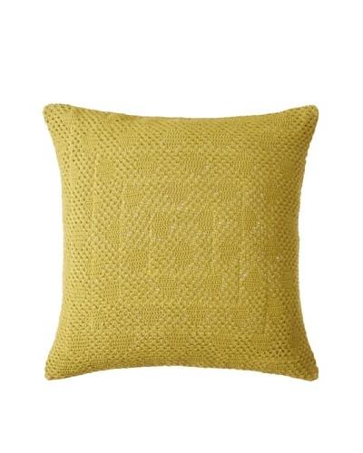 Coyuchi Diamond Crochet Pillow