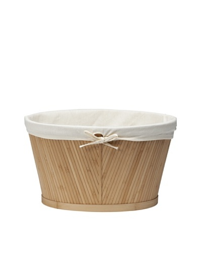 Creative Bath Medium Oval Storage Basket, Natural