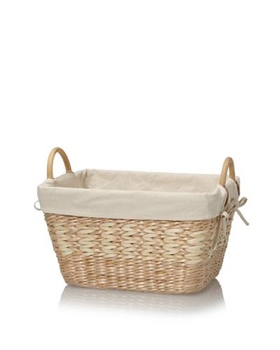 Creative Bath Towel Utility Basket With Liner
