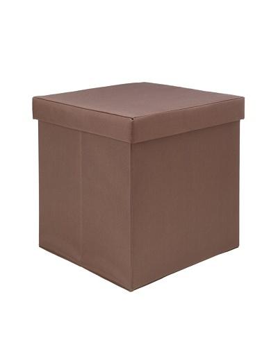 Creative Bath Fold-N-Store Ottoman [Brown]