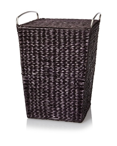 Creative Bath Metro Hamper with Liner [Espresso]