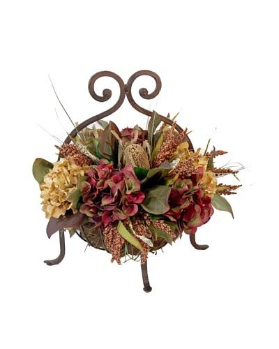 Creative Displays Heather & Dried Banksia Basket