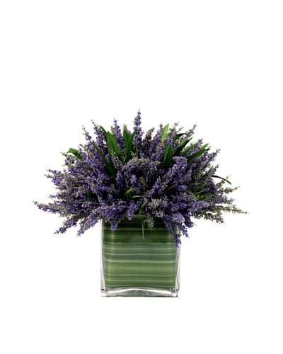 Creative Displays Purple Lavender in Glass