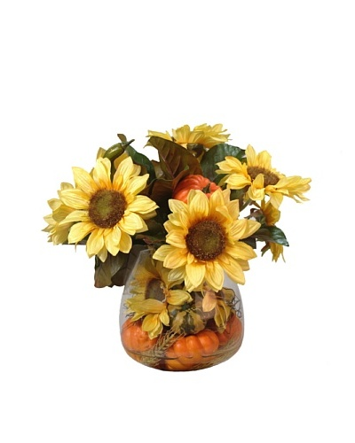 Creative Displays Sunflower Gourd Bouquet