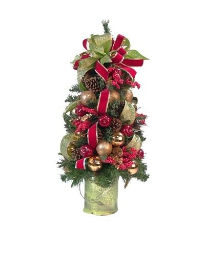 Creative Displays Apple Berry Pine Topiary