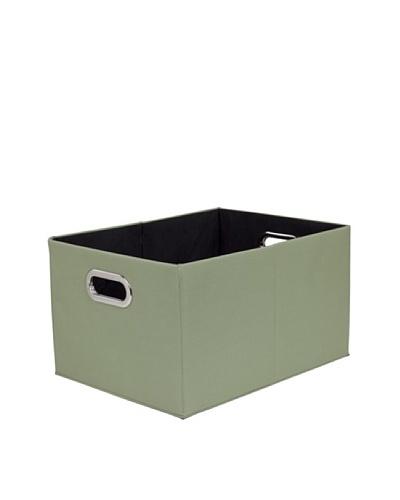 CreativeWare Fold-N-Store Tote, Green