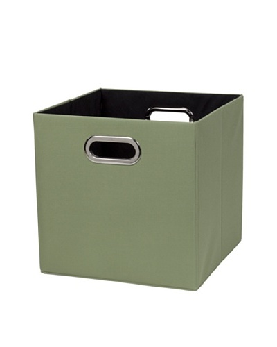 CreativeWare Fold-N-Store Crate, GreenAs You See