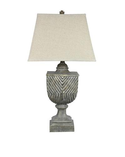Beachwood Table Lamp, Distressed GrayAs You See