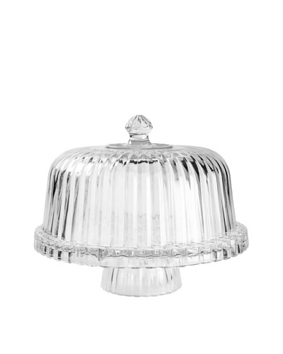 Crystal Clear 12 Alexandria Domed Multi-Purpose Cake Plate