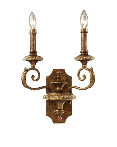 ELK Lighting Montavilla 2-Light Sconce, Spanish Bronze