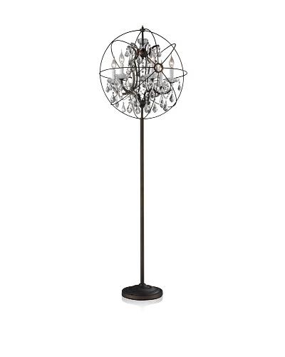 CDI Furniture Antique-Finish Floor Lamp, Rust