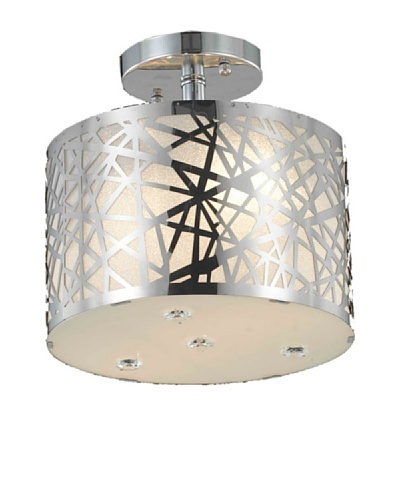 Crystal Lighting Prism Flush Mount