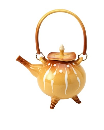 Crystalline Teapot, Yellow