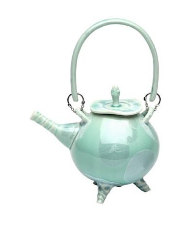Crystalline Teapot, Green