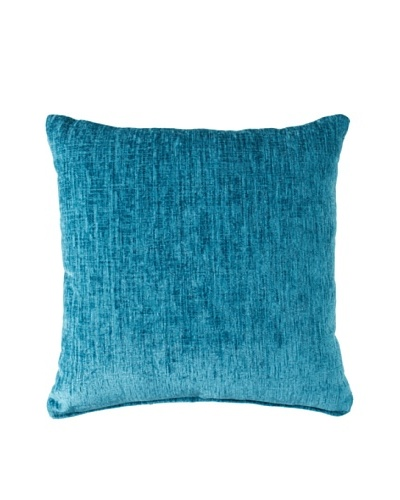 Dakota Eaton Teal Throw Pillow