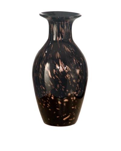 """Dale Tiffany Favrile Vase, 4.5"""" x 9"""""""